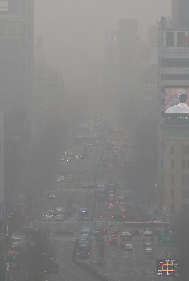 다시 나빠진 수도권 대기…미세먼지 나쁨