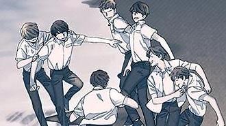 BTS原型漫画《花样年华》公开