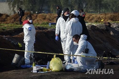 멕시코 중부 송유관 폭발화재...최소 73명 사망