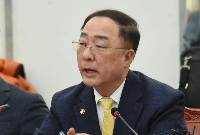 """홍남기 """"예비타당성조사 면제 사업 다음주 초반 결정"""""""