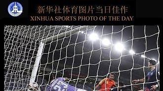 [중국포토]中 언론 선정한 중국-태국전 '최고의 순간'은?