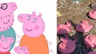[중국포토]中 황금돼지 아닌 분홍돼지 열풍