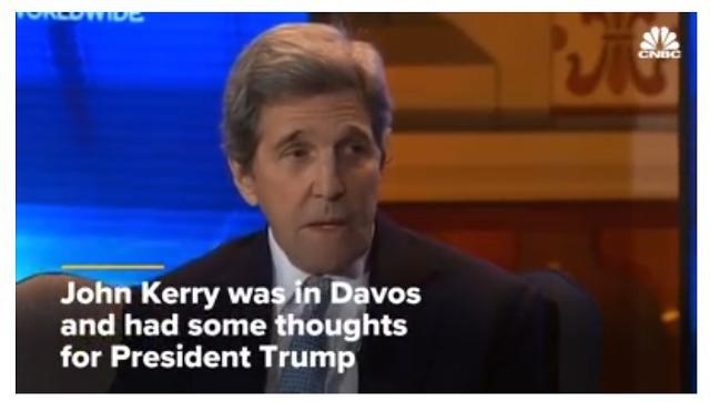 존 케리 전 국무장관, 트럼프에게 전할 메시지는 '사임'