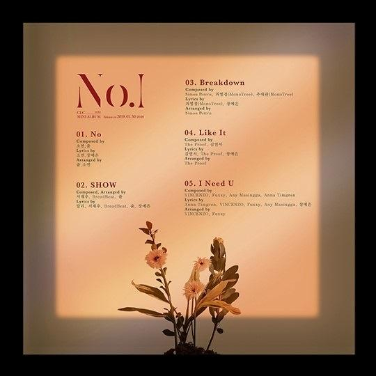 CLC公开新辑歌单 1月30日发布音源