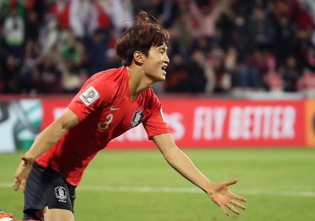 金珍洙加时赛打入制胜一球 韩国2:1险胜巴林晋级八强