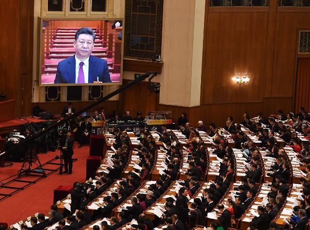 """中지방양회로 보는 2019년 중국경제…""""양보다 질"""" 성장률 목표 줄하향"""