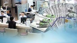 .韩国家庭负债增速和风险巨大.