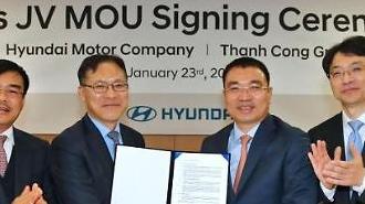 Thành lập liên doanh Hyundai Thanh Cong Manufacturing Vietnam