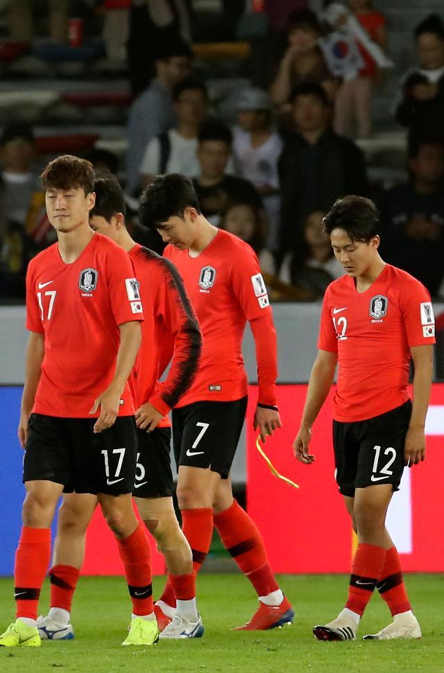 [2019 아시안컵]대한민국 카타르에 1:0 패배...통한의 아쉬움