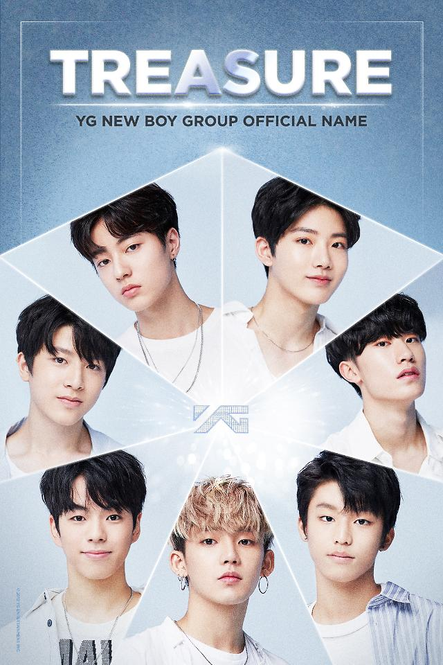 YG Entertainments new boy band christened TREASURE