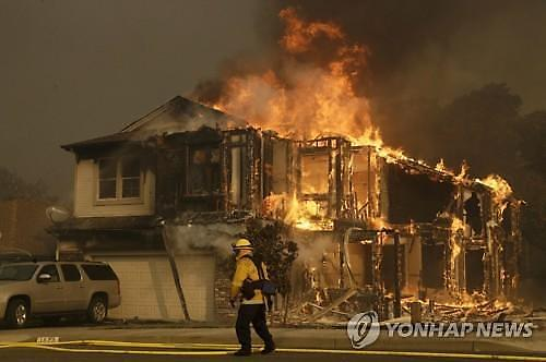 캘리포니아 산불에 자산 80조 PG&E 파산보호 신청