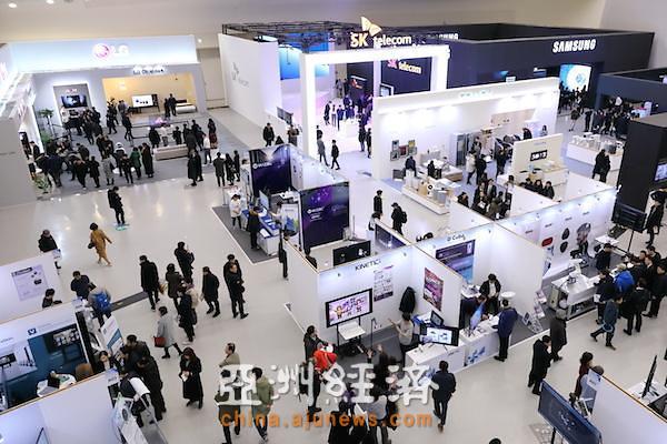 [AJU VIDEO] 韩国电子IT产业融合展