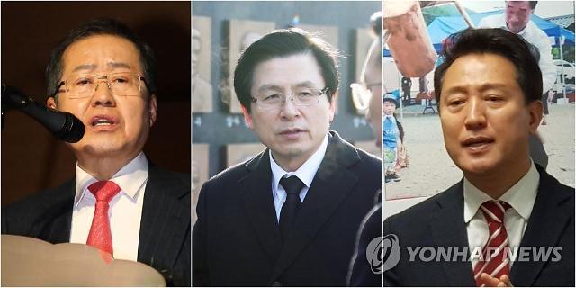 정우택‧심재철 막판 합류…한국당 全大 '7명 대진표' 나왔다