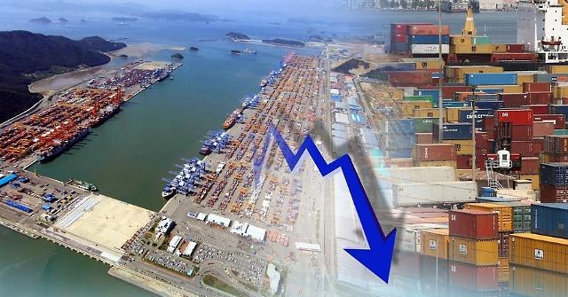 韩国1月出口同比减少5.8%