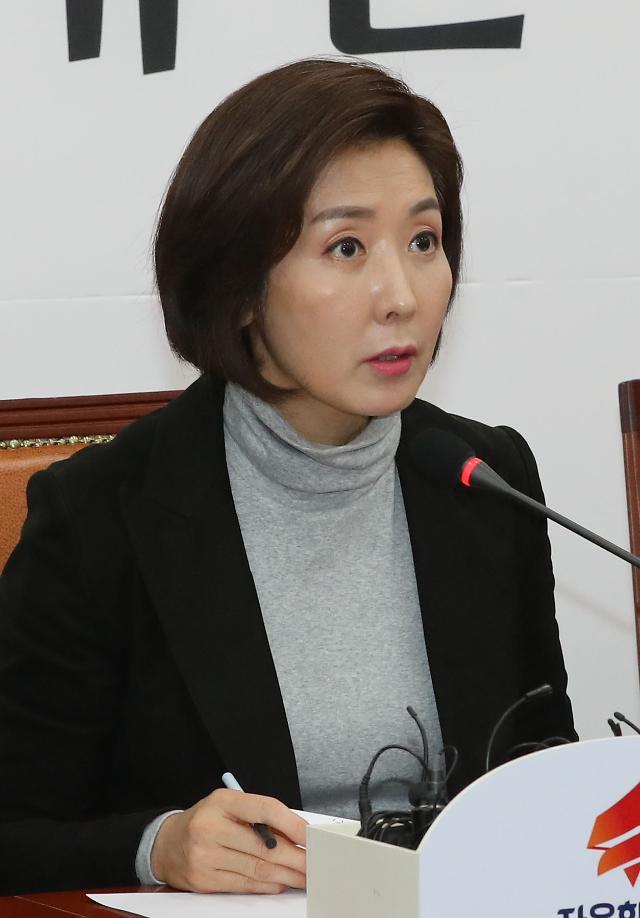 """나경원 """"민주당 조직적 재판 뒤집기 시도"""""""