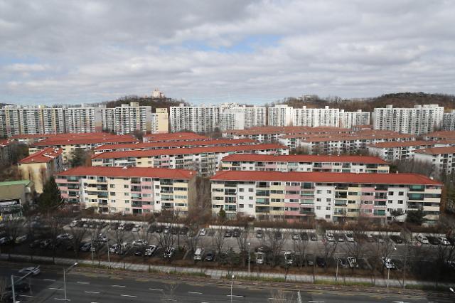 서울 주택 평균 매매가격 4년7개월 만에 하락 전환
