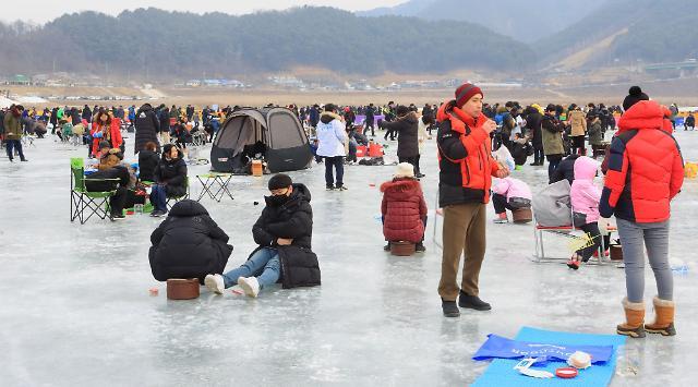 설 연휴기간 인제빙어축제, 11만3000명 넘게 찾아 성황리 막 내려..추억의 내무반 등에서 낭만 만끽