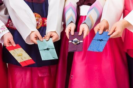 韩拜年收压岁钱风俗始于百年前