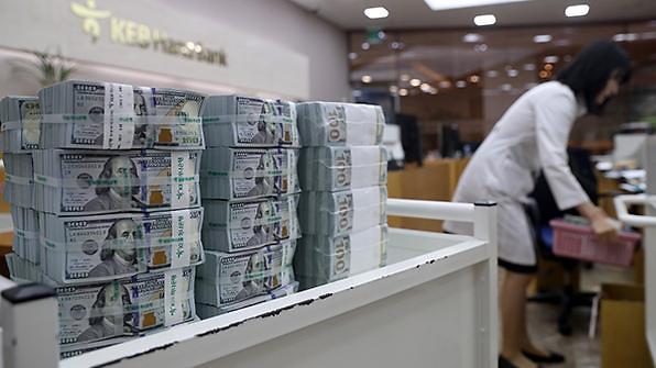 韩国1月外汇储备4055亿美元刷新纪录