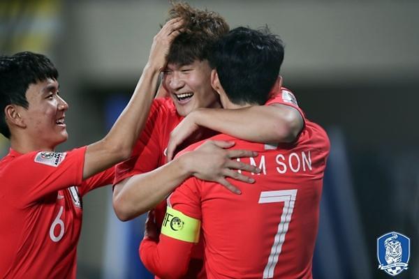 韩国国足最新FIFA排名升至第38位