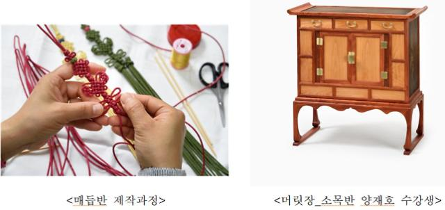 한국전통공예건축학교 졸업작품전개최