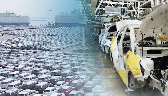 韩国汽车产量减少 跌至世界第七