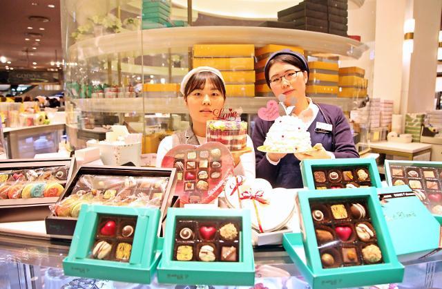 신세계 센텀시티, 발렌타인 맞아 초콜릿, 화장품 등 특별 선물전 열어