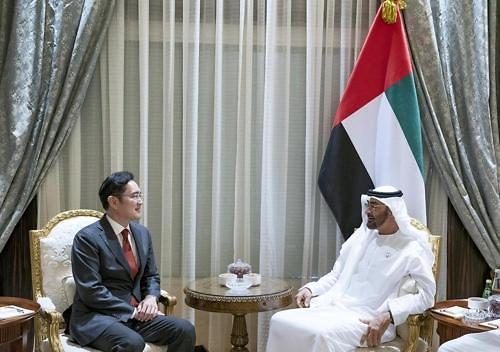 李在镕访问阿联酋 商讨5G领域合作