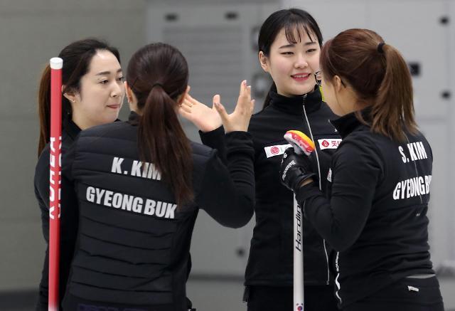 [포토] 승리 따낸 팀 킴