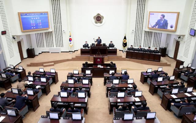인천시의회,인천시설공단 이사장 내정자 인사간담회 개최