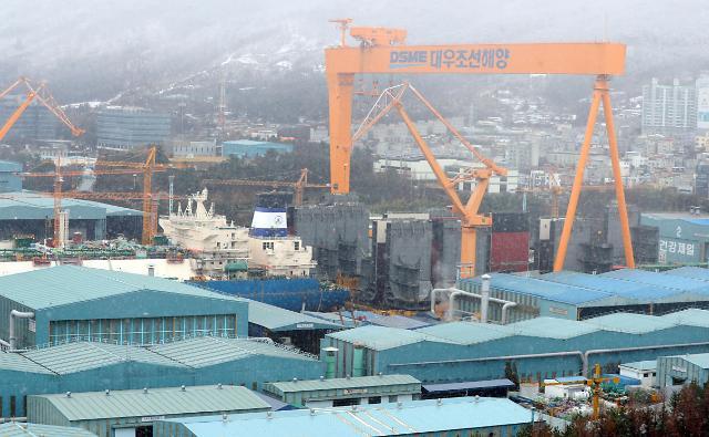 现代重工收购大宇造船 巨无霸企业即将诞生