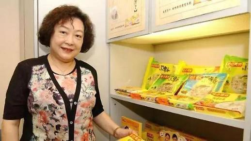 중국 식품업계 여왕, 당뇨로 사망…향년 73세