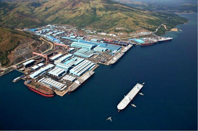 Stock exchange suspends Hanjin shipyard for capital impairment