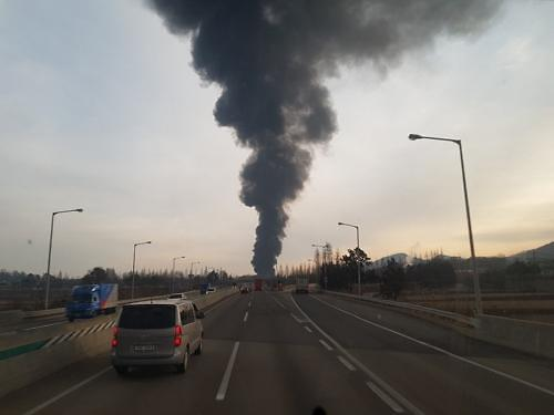 논산 화재, 고무제품 공장서 발생…인명 피해는?