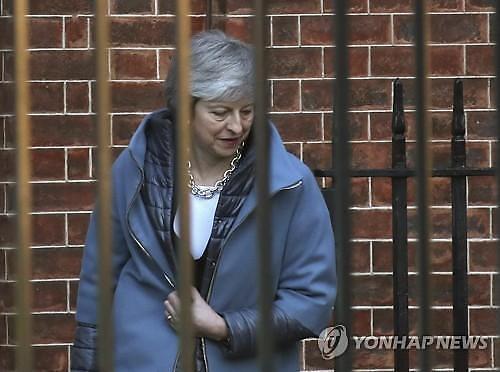 英하원서 메이 총리의 EU 재협상 계획 부결..메이 또 굴욕