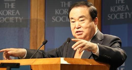 문희상 북한, 핵포기해야 정상국가로 자리매김 할 것