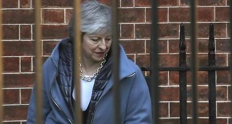 英하원서 메이 총리의 재협상 계획 부결…또 굴욕