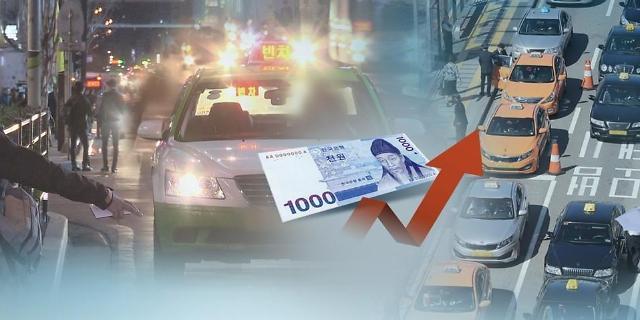 首尔出租车起步价明起上调 起步价23元
