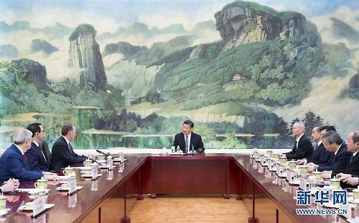 시진핑 中 주석 미중무역협상서 진전 이뤄...다음주 워싱턴서 윈윈 합의 희망