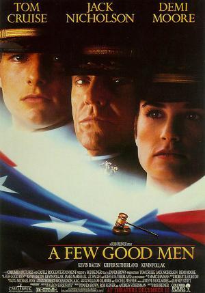 톰 크루즈·데미 무어 주연의 어퓨굿맨은 어떤 영화?