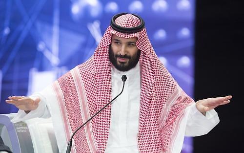 사우디 빈살만 왕세자 아시아 강대국 외교 강화