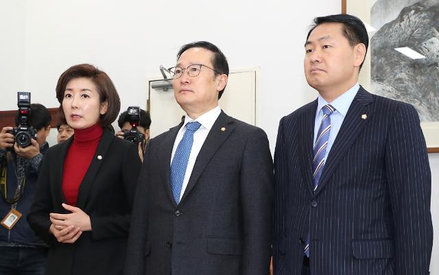 """홍영표 """"한국당 특검·국조·임명철회 요구, 다른 뜻 있을 듯"""""""
