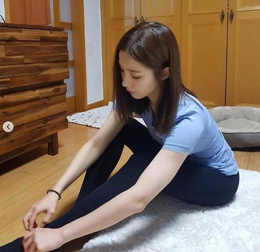 신세경 신입사관 구해령 촬영 준비 중? 운동복 차림으로 몸매관리 시작