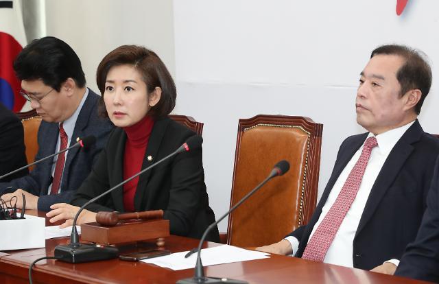 """나경원 """"윤리특위, 손혜원·서영교도 다뤄야"""""""