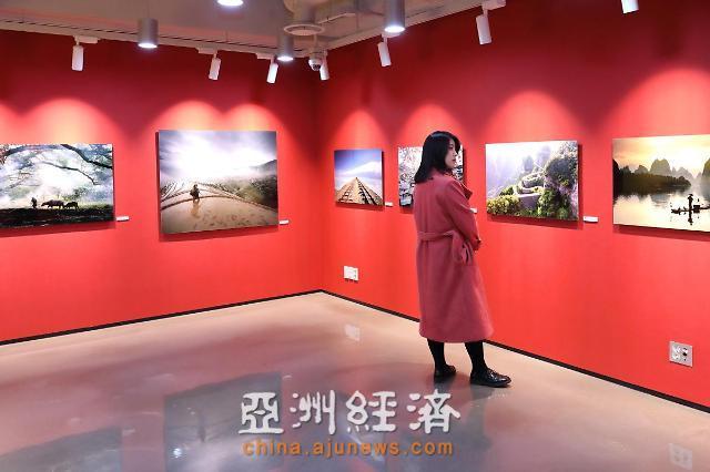 [AJU VIDEO] 2019欢乐春节中韩旅游摄影展现场
