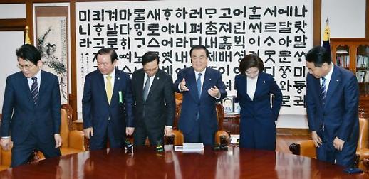 [포토]  폭발한 문희상...민심의 쓰나미가 몰려올 것