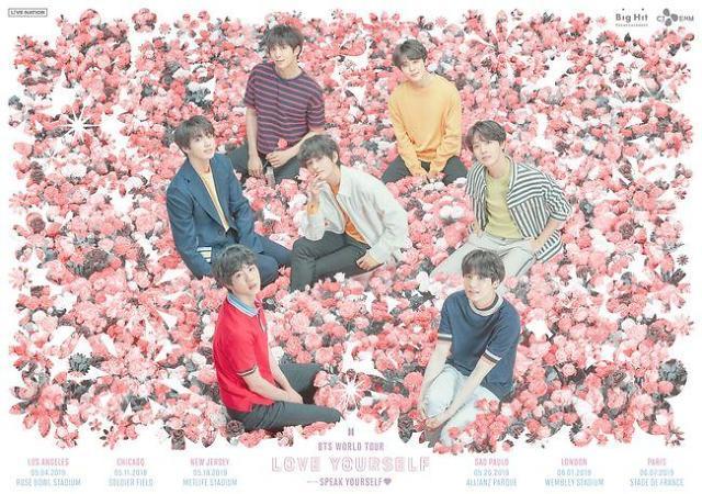 BTS 5月开启全球巡演 首站洛杉矶