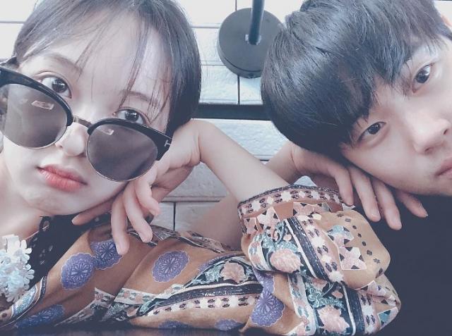 """SKY 캐슬 조병규♥김보라 커플, SNS로 티냈다? """"보다 누나♥"""""""