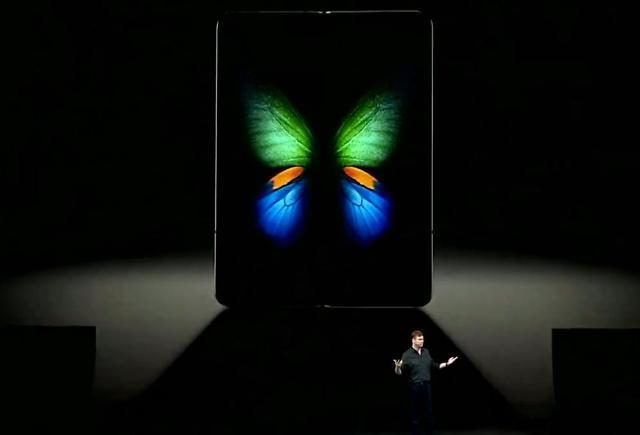 [집중분석 갤럭시폴드①]삼성이 폴더블폰 공개쇼에 나비 이미지를 활용한 5가지 이유