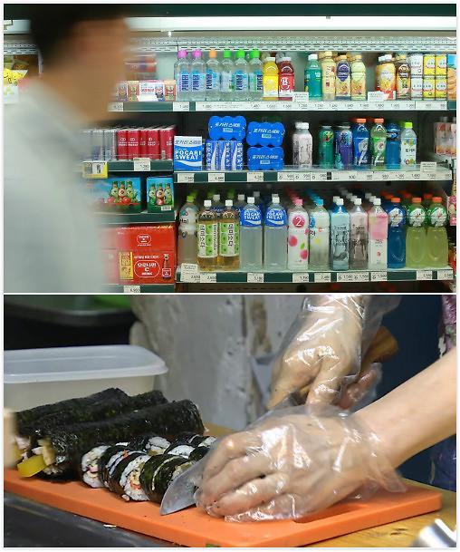 韩国餐馆超市全涨价 百姓吃饭有点累